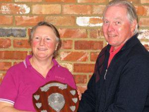 Di Moorhouse Ladies Senior Champion
