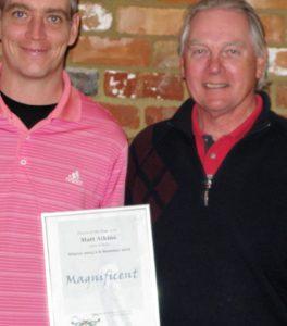 Matt Atkins Winter & Summer Order of Merit