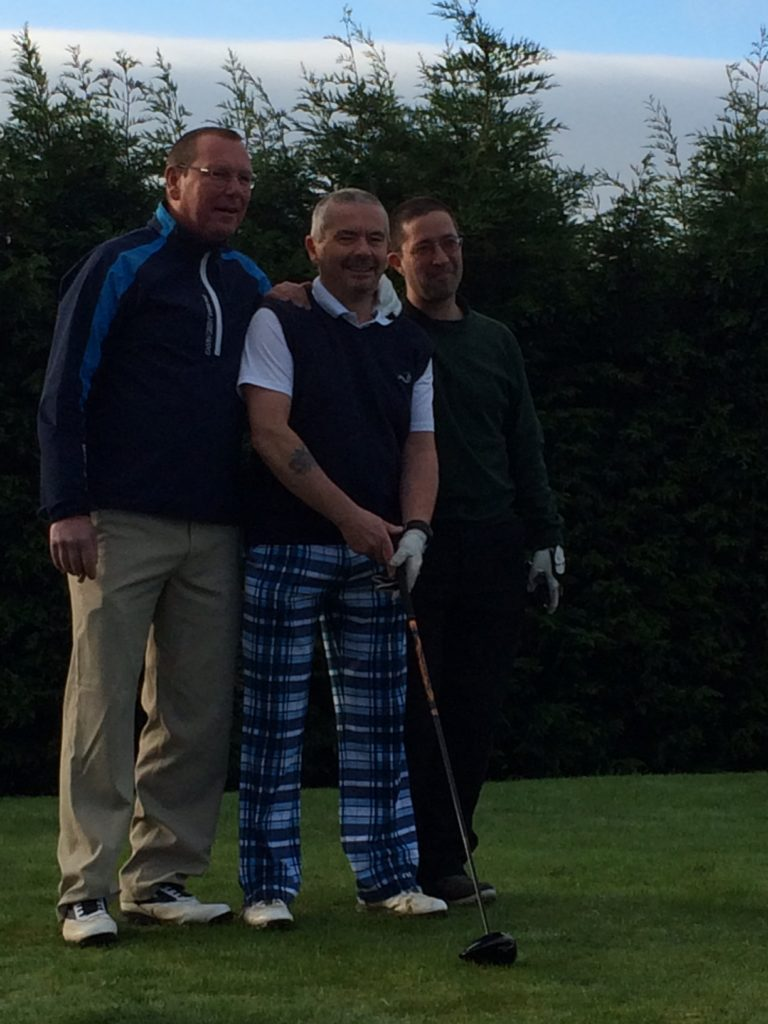 Vice Captain (Tav), Captain (Dave), Past Captain (Rob)